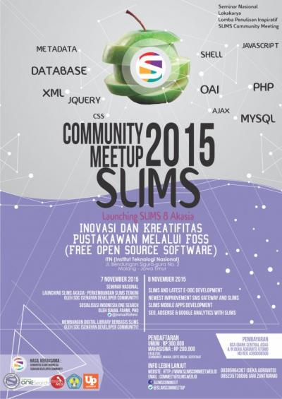 Seminar Nasional SLIMS COMMUNITY MEET UP 2015